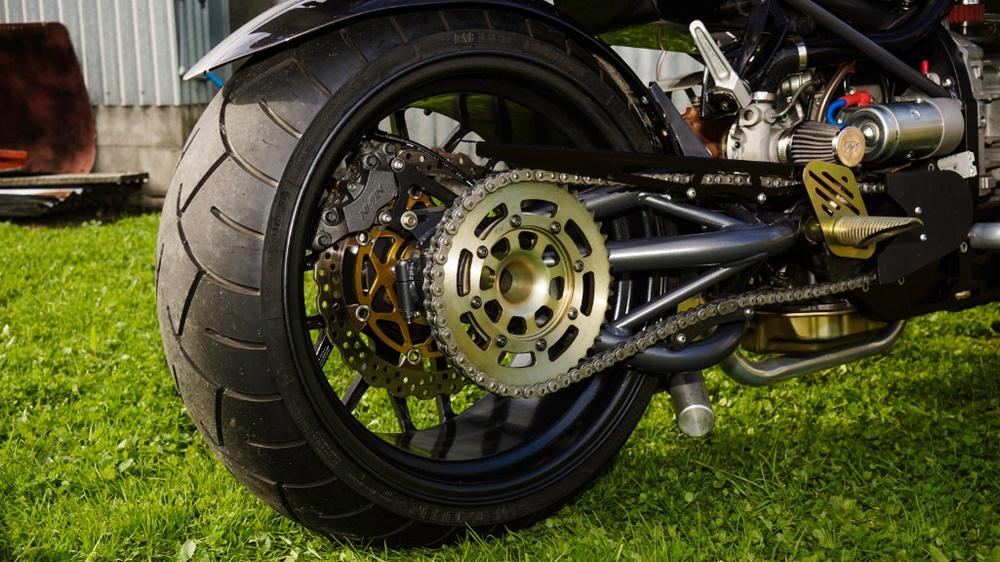 мотоцикл с двигателем от субару фото для